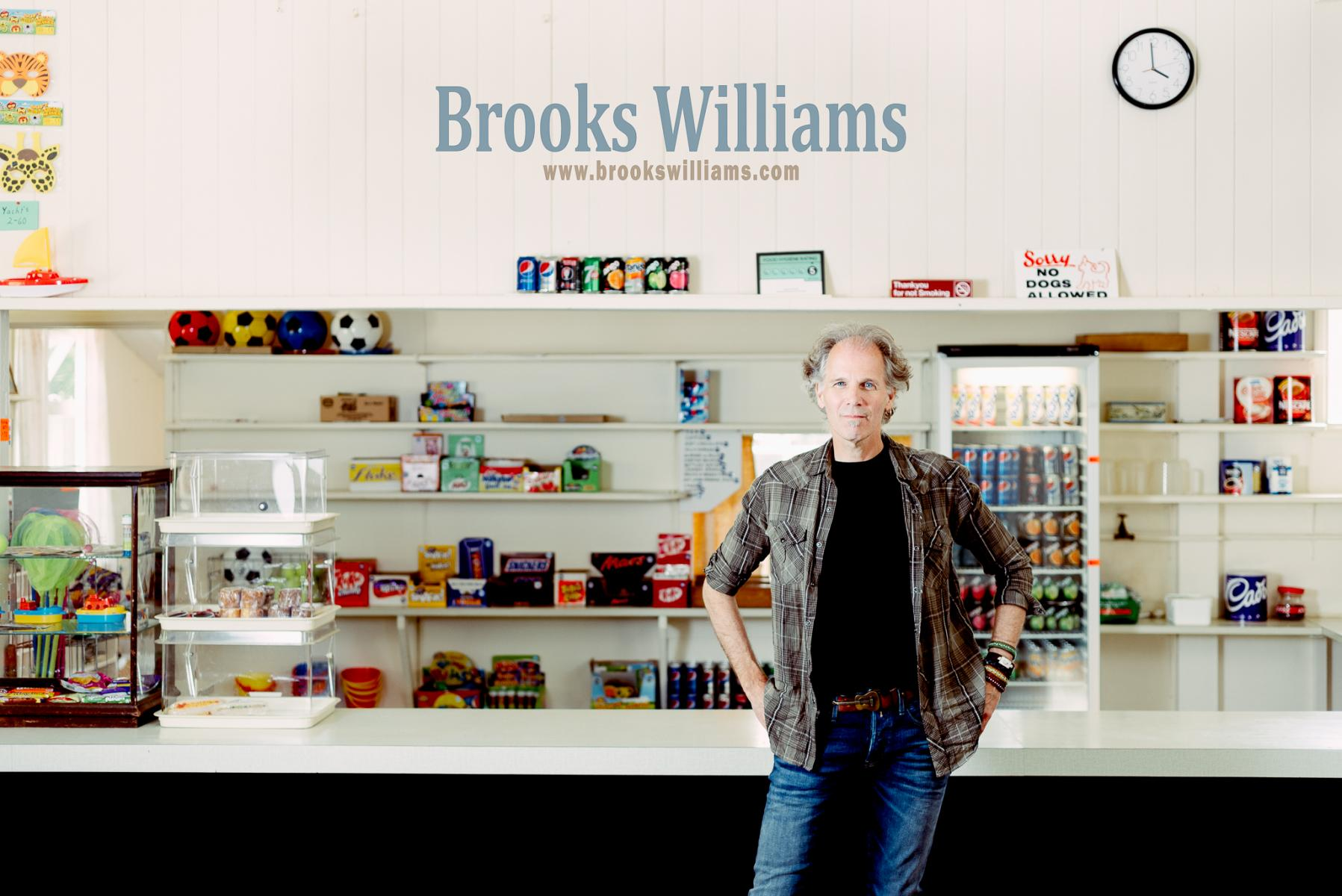 Brooks Williams, Musician.